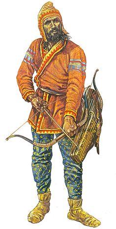 """Скифский лучник / """"Scythian archer"""", Jeff Burn"""