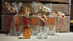 Fireball Whiskey Holiday Gift Idea!  Great for gift exchanges, stocking stuffers and party favors!
