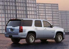 2008 GMC Yukon Hybrid (Isn't this truck lovely? LOL)
