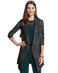 Travelers Collection Crushed Duster Jacket