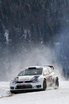 VW Polo R WRC Monte Carlo 2013
