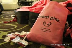 sweat pink goodies!