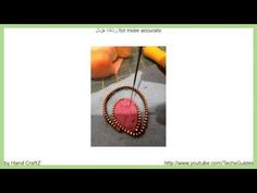 How to Make Felt Zipper Brooch - YouTube