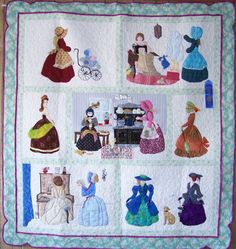 Quilts By Martha - Bonnet Girls #2