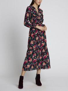 New Arrrivals Spring Summer 2020 - Maison Gassmann Veronica, Boho, Portrait, Pink, Cold Shoulder Dress, Spring Summer, Dresses With Sleeves, Long Sleeve, Fashion
