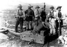 another wheeled mortar carriage.