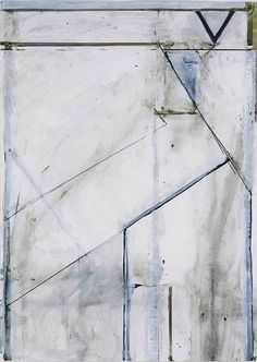 Richard Diebenkorn, Untitled (Ocean Park Drawing) on ArtStack #richard-diebenkorn #art