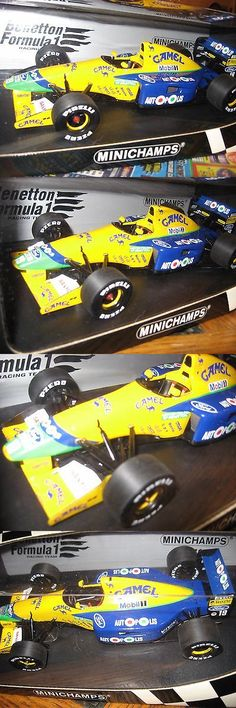 Formula 1 Cars 180270: 1991 F1 Benetton Camel Ford B191 Michael Schumacher Formula 1 Diecast 1 18 Model -> BUY IT NOW ONLY: $105 on eBay!