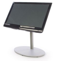 CiERA EZ StandShort™ - Black Television Mounts, Television Stands, Portable Tv Stand, Lobbies, Hotel Lobby, Nice View, Monitor, Flooring, Kiosk