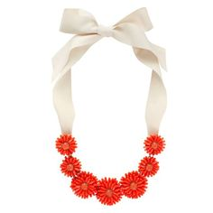 Gerbera Garden Statement Necklace from Kate Spade - this necklace makes me smile and think of spring