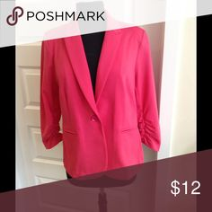 Olivia Moon jacket Olivia Moon pink knit jacket Olivia Moon Jackets & Coats Blazers