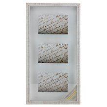 White Wooden 10 X 20 Float Frame Alexandria By Studio Decor
