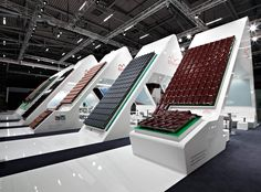 New exhibition concept for Braas at BAU 2013 in Munich | Schmidhuber