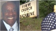 Pastor shot outside church while putting out Memorial Day flags