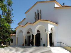 Beautiful church in Kremasti, Rhodes.