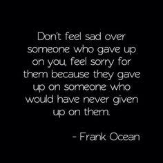 Feel Sorry