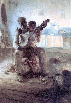 "Third Grade Art Lesson 17 | ""The Banjo Lesson"" by Henry Tanner Looking at Painting. Talk about Art."