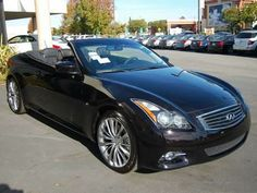 2014 Infiniti Q60Convertible Base 2dr Convertible Convertible 2 Doors Malbec Black for sale in Concord, CA Source: http://www.usedcarsgroup.com/used-infiniti-for-sale-in-concord-ca