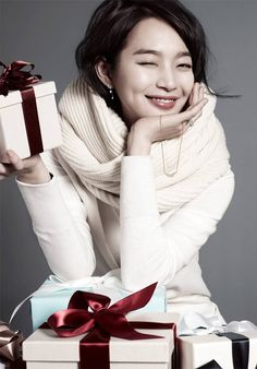2014 STONEHENgE Christmas Collection | Shin Min Ah INTERNATIONAL FANS