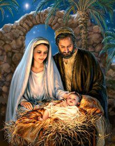 """Dona Gelsinger - """"Holy Family"""""""