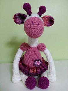 Crochet giraffe amigurumi. Improvised with pattern from http://www.artedetei.com/2013/02/amigurumi-giraffe-english-pattern.html?m=1