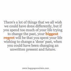 """""""I Wish I'd Done Things Differently!"""" – Getting Over The Regret Hangover"""