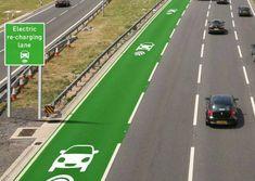 Inglaterra testa estrada que recarrega carros elétricos durante o percurso - Notícias - Tecnologia - Administradores.com