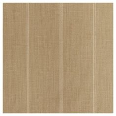 "Window Curtain Panels Stripe Tan (50""x120""), Brown"