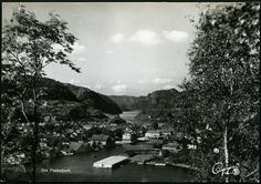 Flekkefjord utsikt Vest-Agder fylke Foto:Oppi