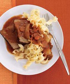 Slow-Cooker Tuscan Pot Roast | RealSimple.com