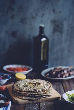 Buckwheat Pita Bread - gluten free - (Souvlaki For The Soul)