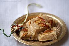Rajgira Flour Burfi Recipe - Amaranth Flour Burfi - Raksha Bandhan Recipes | Indian Cuisine