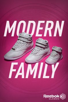 598ea785413efd Reebok Classic Freestyle Hi Muted. Streetstyle for you and your mini me.  Family Over