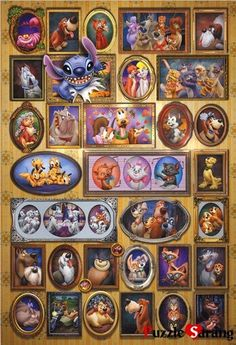 "Jigsaw Puzzles 1000 Pieces ""Disney's Animal Collection"" / Disney / Tenyo....cute!  looks like a fun one to do with the grandkids....they love puzzles too, and DISNEY!"