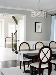 Benjamin Moore Revere Pewter Paint.  Must use this color in my next home!
