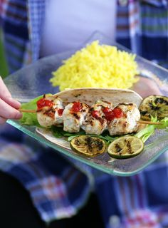 Monkfish Kebabs - Include these kebabs into your usual BBQ fare and you won't be disappointed. A great and delicious recipe. -  www.fishisthedish.co.uk/recipes/monkfish-kebabs