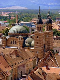 ~ historical fiction ~ THE IMPALER'S WIFE ~ Orthodox Cathedral in Sibiu. Dracula's Orthodox religion plays a big role in his quest to keep out the Turks. Ethiopia Travel, Africa Travel, Uganda, Bulgaria, Places To Travel, Places To Go, Sibiu Romania, Amazing Places On Earth, Seychelles