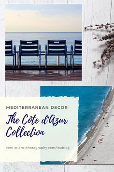 The Côte d'Azur / French Riviera collection of fine-art prints is sure to inspire you! Warm up your walls and give your home office some love to fill you with wanderlust as you work from home!