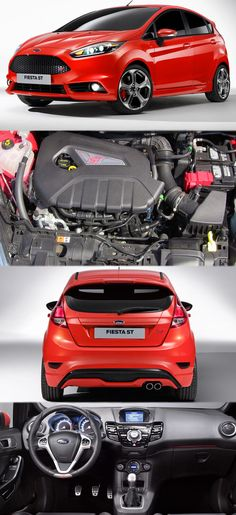 Ford Whispered More Powerful Fiesta ST Get more details at… Ford Rs, Car Ford, Autos Ford, Kei Car, Ford Fiesta St, Drifting Cars, Ford Escort, New Engine, Ford Transit