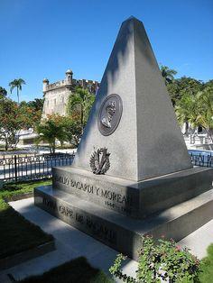 Santiago de Cuba - Cementerio de Santa Ifigenia - the Bacardi mausoleum