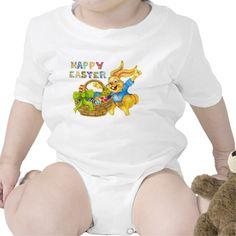 Easter Bunny Holiday baby creeper