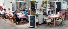 Brixton Cornercopia - ultra-local food: restaurant and cornershop deli