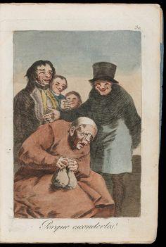 """Porque esconderlos? (Why hide them?); Plate 30 bound into """"Los Caprichos""""   Museum of Fine Arts, Boston"""