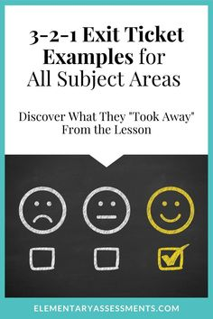 The 3-2-1 exit ticket is one you'll want to keep handy in your assessment toolkit. See how quick and easy elementary learners can summarize their learning! #321exittickets, #exitticketideas, #exitticketideasupperelementary, #exitticketideasmiddleschool, #exitslips