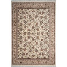 Nourison Traditional Persian Palace Area Rug Collection - The Rug Mall Persian Palace, Traditional Area Rugs, Floral Motif, Collection, Color, Home Decor, Decoration Home, Traditional Rugs, Room Decor