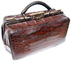 Vintage alligator carry on from vintageskins.com  |  http://vintageskins.com/index.html