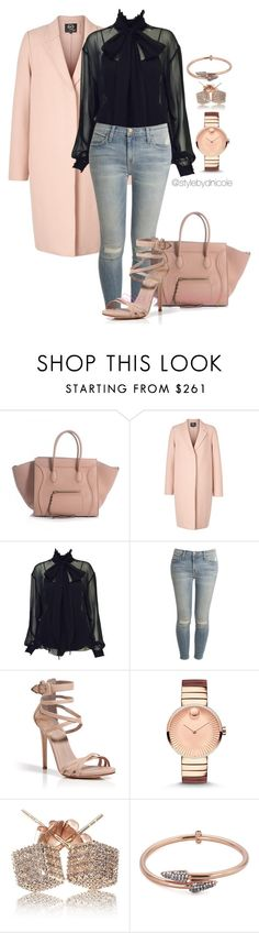 """Untitled #3139"" by stylebydnicole ❤ liked on Polyvore featuring McQ by Alexander McQueen, Karl Lagerfeld, Current/Elliott, Le Silla, Movado, Loushelou, Katie Rowland, women's clothing, women's fashion and women"