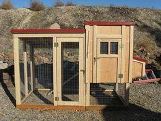 Chicken coop plan & material list