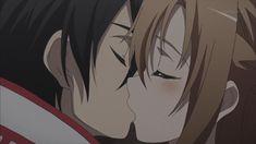 """Kirito and Asuna of """"Sword Art Online"""""""