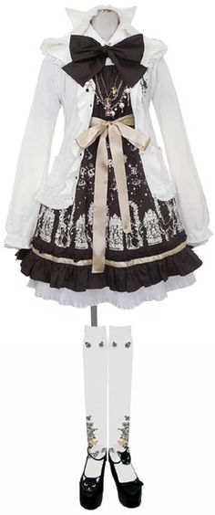 Casual Gothic Lolita Coordinate By Putumayo